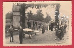 Grandrieu -Fête De La Libération ...1946 - Carte Photo 3 ( Voir Verso ) - Sivry-Rance