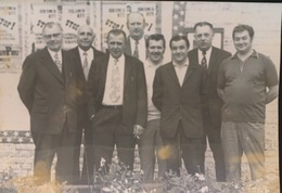 NINOVE  ORGANISTATOREN V/D 31e GROTE PRIJS DE CALUWE      = FOTO 1973  +- 14 X 8 CM  = - Ninove