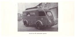 Vers 1935 - Iconographie - Le Mans (Sarthe) - Camionette Des Comptoirs Modernes - FRANCO DE PORT - Vieux Papiers