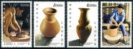 356 - Laos 2011  YT 1800-03 ; Mi# 2192-95 **  MNH   Pottery - Laos