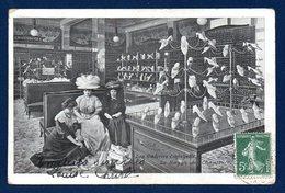 75. Paris. Les Galeries Lafayette. Le Rayon Des Chaussures. 1909 - France