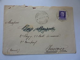 "Busta Viaggiata ""Cap. 2° Regg. 53 Batt. Di Marcia 2 Compagnia  INVERIGO ( Como )""  1942 - 1900-44 Victor Emmanuel III"