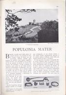 (pagine-pages)POPULONIA  Le Vied'italia1928/05. - Bücher, Zeitschriften, Comics