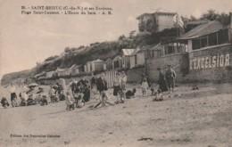 ***  22  ***  SAINT BRIEUC Ses Environs Saint Laurent La Plage - L'heure Du Bain TB - Saint-Brieuc