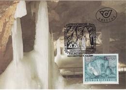 ÖSTERREICH 1987 - Naturschönheiten / Dachstein Eishöhle - Maxikarte, MC - Sonstige