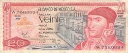 20 Pesos Mexico 1973 VG/G (IV) - Mexico