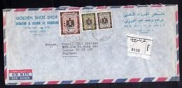 LIBYA LIBIA REPUBLIC GADDAFI ISSUE GHEDDAFI LAR 7 4 1978 AIR MAIL  PAR AVION LETTER COVER LETTERA LETTRE - Libia