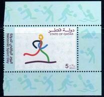 Qatar 2003 National Sport Day 5 Ryial    MNH  Neuf - Qatar