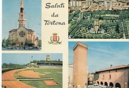9402-SALUTI DA TORTONA(ALESSANDRIA)-CAMPO SPORTIVO-FG - Saluti Da.../ Gruss Aus...