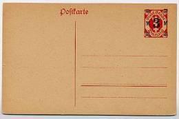DANZIG  P 23  Postkarte  ** 1922  Kat. 7,00 € - Danzig