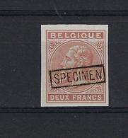 Emissie 1883 2fr Bruin NIET UITGEGEVEN MNH ** POSTFRIS ZONDER SCHARNIER COB € +++75,00 SUPERBE - Non Dentelés