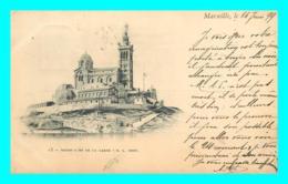 A738 / 347 13 - MARSEILLE Notre Dame De La Garde ( Timbre ) - Marseille