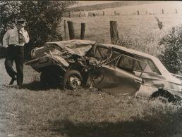 AALTER    = FOTO 1973  +- 13 X 8 CM  =   DODELIJK ONGEVAL - Aalter