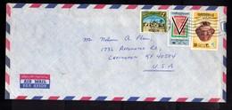 LIBYA LIBIA REPUBLIC GADDAFI ISSUE GHEDDAFI LAR 23 3 1977 AIR MAIL  PAR AVION LETTER COVER LETTERA LETTRE - Libia