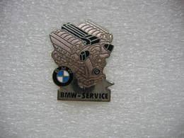 Pin's D'un Moteur BMW, BMW Service - BMW