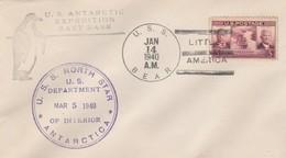 Stati Uniti, U.s. Antarctic Expedition East Base 14/Jan 1940 - Altri
