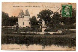 45 - Loiret /  AUGERVILLE -la- RIVIERE -- Le Château Pris Du Parc. - France