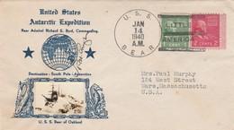 Stati Uniti, U.S. Antarctic  Expedition Destinazione Polo Sud   14/Jan 1940 - Stati Uniti