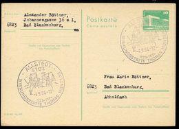 BAUERNKRIEG THOMAS MÜNTZER 1525 Allstedt 1978 Auf  DDR  Postkarte P 79 - Non Classificati