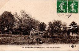 Val De Marne : Villiers Sur Marne :  Parc Du Chateau, Attelage - Villiers Sur Marne