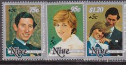 Niue - Royal Wedding Set MNH - Case Reali