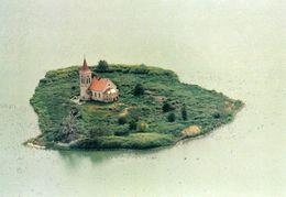 1 AK Tschechien * Kirche St. Linhart, Erb. Ab Dem 12. Jh. Heute Auf Einer Insel Im Stausee Da Der Ort Musov überflutet - Tchéquie