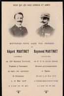 Guerre 1914-1918 - Champagne/Ypres -Morts Pour La Patrie - Décès
