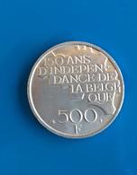 500 Francs 1930-1980 Baudouin (en Français) - 11. 500 Francs