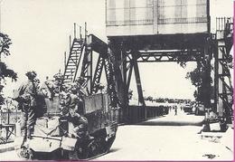 --   PEGASUS BRIDGE -- 6 JUIN  1944 JOUR J  -- CACHET AU DOS - War 1939-45