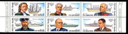 RUSSIE RUSSIA 1993, TRICENTENAIRE FLOTTE RUSSE, 6 Valeurs, Neuf / Mint. 215 - Bateaux