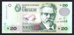 624-Uruguay Billet De 20 Pesos 2011 F667 - Uruguay