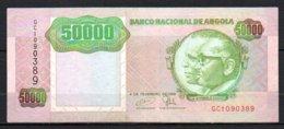 624-Angola Billet De 50 000 Kwanzas 1991 GC090 - Angola