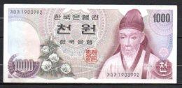 624-Corée Du Sud Billet De 1000 Won 1975 - 190 - Korea, South