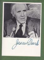 JASON ROBARDS  AUTOGRAPHE / AUTOGRAMM  In Person Signed Photo 10x15 Cm - Autographes