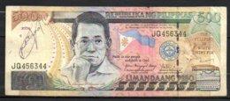 624-Philippines Billet De 500 Piso 2005 JQ456 - Philippines