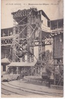 71  Saône Et Loire - MONTCEAU-LES-MINES - Un Puits - Au Pays Minier - 1919 - Mines