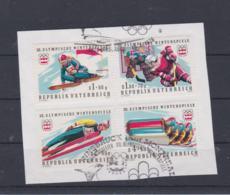 Austria 1976 Olympic Games Innsbruck Used On Fragment  (H54) - Winter 1976: Innsbruck