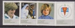 Falkland Island Dep. 1982 Princess Diana 21st Birthday MNH - Case Reali