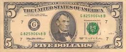 Five Dollar USA AU/EF (II) - Federal Reserve (1928-...)
