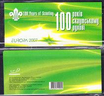Europa Cept 2007 Ukraine Booklet  ** Mnh (43100) - Europa-CEPT