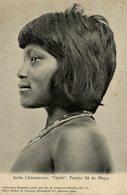 INDIO // INDIAN CHAMACOCO OPIET. PUERTO 14 DE MAYO. -  Fonds Victor FORBIN 1864-1947 / PLAIN BACK - Paraguay