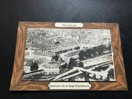 BESANÇON Souvenir Du 5e Regt D'Artillerie Multi Vues (6 Volets) Carte à Systeme - Besancon