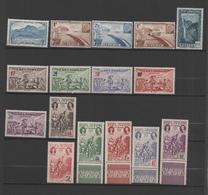 Réunion 16 Nine Stamps 1933-44 , See Scan - La Isla De La Reunion (1852-1975)