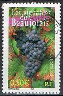 """FRANCE : N° 3648 Oblitéré """"TàD Rond"""" (La France à Vivre : Les Vignobles Du Beaujolais) -PRIX FIXE - - France"""
