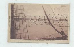 La Trinité-sur-Mer  (56)  : L'arrivée Des Régates Prise D'un Bateau à Voile à Mât En 1935 (animé) PF. - La Trinite Sur Mer