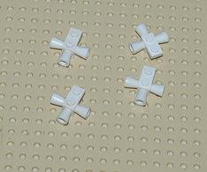 Lego Lot 4x Space Haut Parleur Sirene Fusées Blanc Ref 3963 - Lego Technic