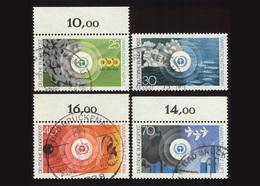 BRD 1973, Michel-Nr. 774-777, Umweltschutz, 3 X Bogenrand Oben, Gestempelt, - BRD
