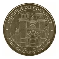 Monnaie De Paris , 2009 , Souvigny , Prieuré , Fille De Cluny - Monnaie De Paris