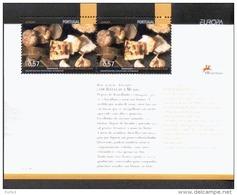Por. Block 209 CEPT Gastronomie ** MNH Postfrisch - Hojas Bloque