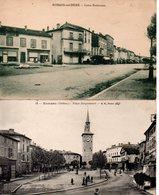 Drôme : Romans : Lot De 4 Cartes Anciennes - Romans Sur Isere